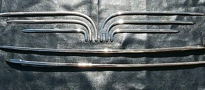 1935-1936 Chevy Chevrolet Fender Skirts moldings