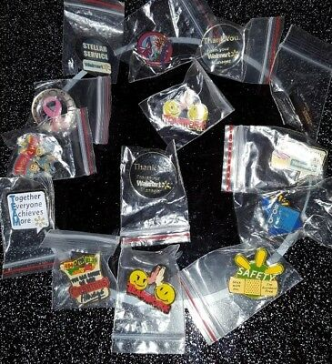 Walmart pin lot of 14