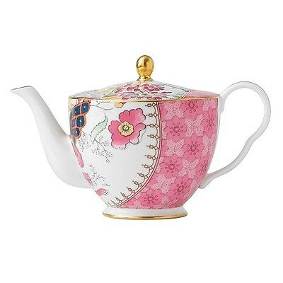 NEW Wedgwood Butterfly Bloom Teapot 0437170. On Special!