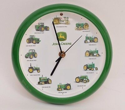 John Deere tractor clock makes sounds - tested and working