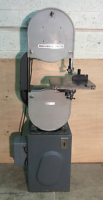 """Delta Rockwell 14"""" Band Saw Model 28-200 - Includes NEW Urethane Tires"""