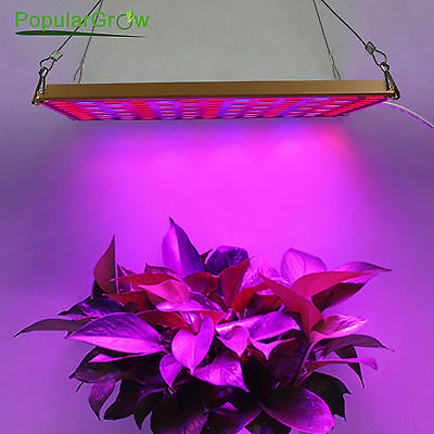 PopularGrow 45W LED Grow Light Professional Spectrum Ratio for Indoor Plant Veg