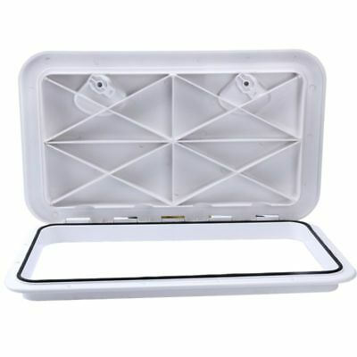 NEW Access Hatch Caravan / Boat Storage Hatch White 607mm x 243mm Hot sale in AU