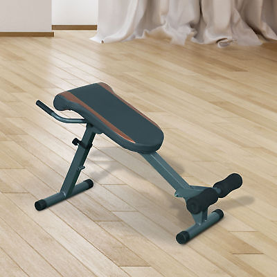 Soozier Roman Chair Abs Abdominal Extensions Exercise Fitness Muscle Workout Gym