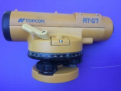 """topcon"" At-G7 Automatic Level Surveying Transit & Carrying Case"