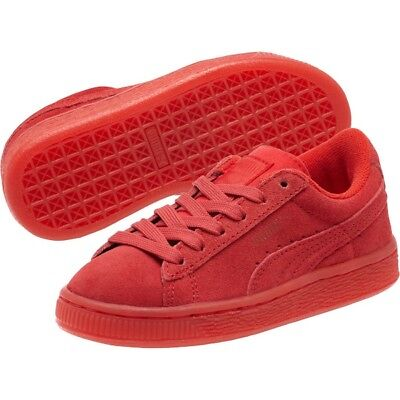 half off 6517c 72899 PUMA SUEDE CLASSIC Red 361939-01 Toddler infant Shoes