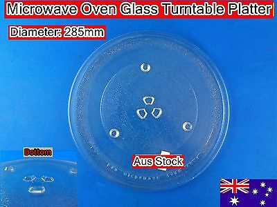 Microwave Oven Spare parts Glass Turntable Plate Platter 285mm Suits Many Brand