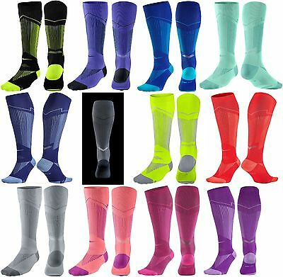 New Nike Elite Graduated Compression OTC Running Socks Reflective Women Men