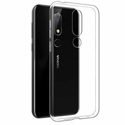 Soft Clear Transparent Gel Case Cover For Nokia 1 2.1 3 3.1 5 6 6.1 X6 7 Plus 8