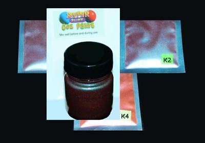 Cozpaint for Cosplay, Props, Fabric, Model, Crafting paint. Chameleon colours