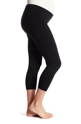 $35 L.A. Made Maternity Crop Stretch Leggings In Size XL- Free Shipping