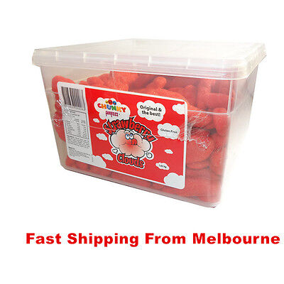 Chunky Funkeez Strawberry Cloud 1.65kg Box Lollies Candy Mix Sugar Party