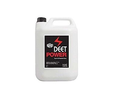NAF Off Deet Power 5Litre Horse equestrian Fly and insect Spray
