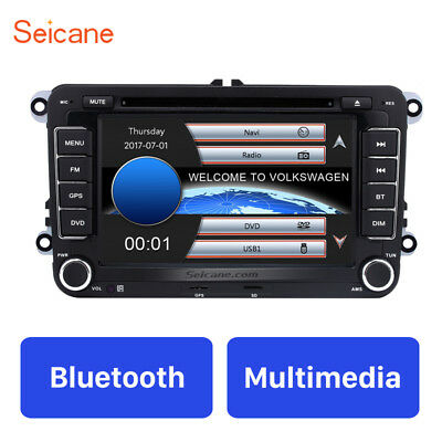 "7"" Car Radio DVD Player GPS Navi for VW VOLKSWAGEN HD Touchscreen Stereo 2 Din"