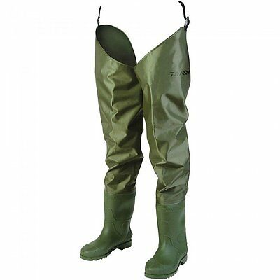 NEW Daiwa Nylon Hip Waders S10 - DNHW10