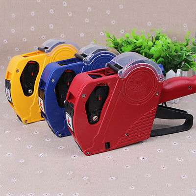 MX-5500 EOS 8 Digits Price Tag Gun Labeler Retail Tool Red/Yellow/Blue Price Gun