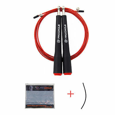 Speed Weighted Skipping Jump Ropes Adjustable MMA Boxing Exercise Training Home