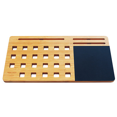 """Bamboo Lap Desk - Portable Workstation for 11 - 15"""" Laptop by Legion Woodcraft"""