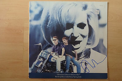"Pet Shop Boys Autogramme signed Maxi-Cover ""What Have I Done To D...?"" Vinyl"