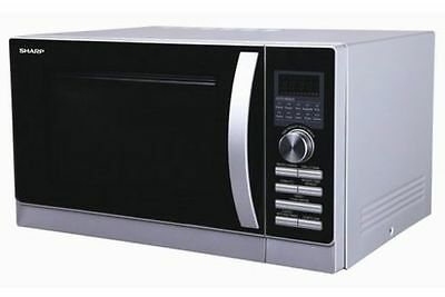 Brand New R80A0S Sharp Microwave Oven With Top & Bottom Grill And Convection