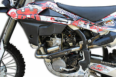 Dominator Header Head Pipe With  Power Bomb Powerbomb Husqvarna Txc 310 R