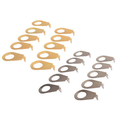 10PCS Guitar Knobs Pointer Plate  Knob Position Indicator for Guitar Bass