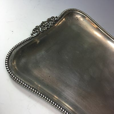 silver card or serving tray germany