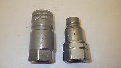 "Iso 16028 3/4"" Sae Thread Flush Face Couplers"