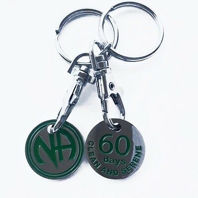 Narcotics Anonymous and Heroin Anonymous Key Chains...Choose your Time