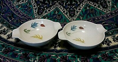 Franciscan Earthenware autumn 2 lug handle cereal bowls. Excellent condition