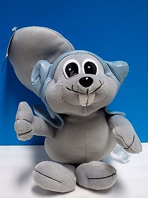 """Rocky The Flying Squirrel Plush (12"""") Toy Of Rocky & Bullwinkle Tv Fame - W/tags"""