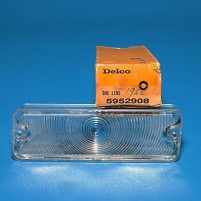NOS Delco RH Front Parking Light Lens GM 5952908 1962 Olds 88 98 Except F-85