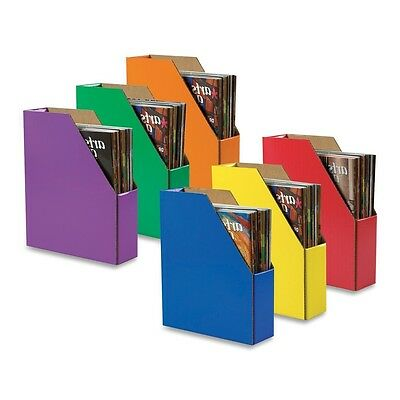 6 Pack Magazine Holders File Holder Organize Files Student Book Boxes Storage