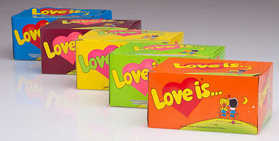 LOVE IS Assorted Original Retro Bubble Gum All Tastes KENT 2018 SEALED