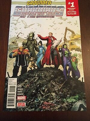 Guardians Of The Galaxy #1 Comic Book
