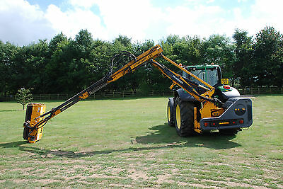 McConnel PA8000TT EDS Flail Hedge Cutter