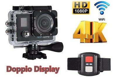 Pro Cam 4K SPORT WIFI ACTION CAMERA ULTRA HD VIDEOCAMERA SUBACQUEA GOPRO 16MP