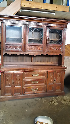 Sideboard Furniture Base And Top Cabinet Unit