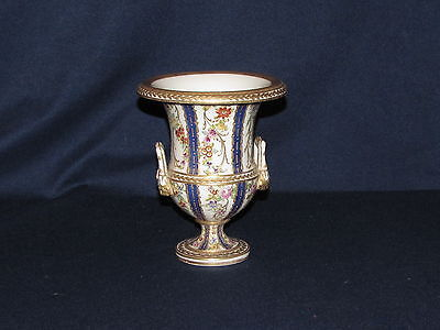 Beautiful French Hand-painted Urn