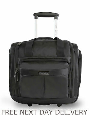 Perry Ellis Carry On Under The Seat Luggage Suitcase Bag Cabin Travel RRP - £130
