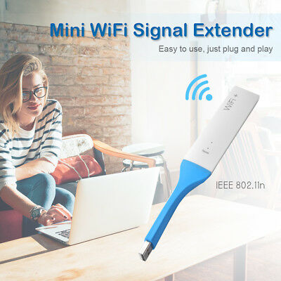 Wireless Repeater 802.11n Network Internet Extender USB WiFi Range Router TH571