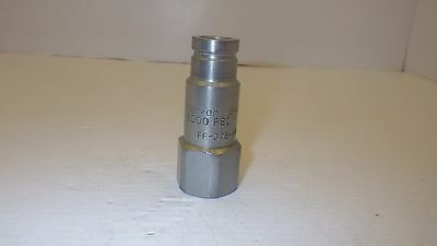 "Parker Ff-372-8Fp 3000 Psi Hydraulic Coupler, Male 1/2"" Npt"