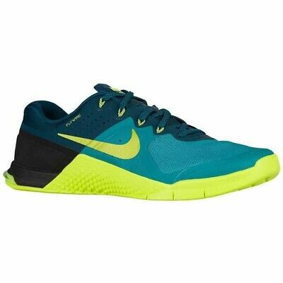 pretty nice 40df5 8efb7 New Men s NIKE METCON 2 - 819899 373 Rio Teal Volt-Turquoise-Black