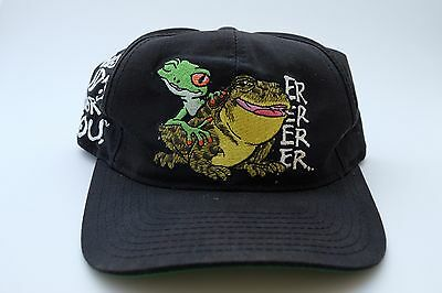Vintage Budweiser This Bud's For You Snap Back Lizard Frog American Needle 1995