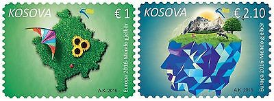 Kosovo Stamp 2016. EUROPA CEPT - Think Green. Set MNH.