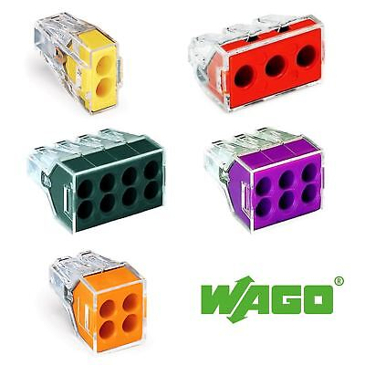 Wago 773 Push Wire Electrical Connector 773-102 773-104 773-106 773-108 773-173