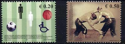Kosovo Stamps 2007. Kosovar Sport. Football, Basketball, Wrestling. Set MNH