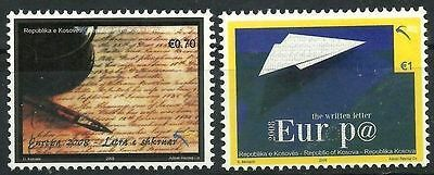 Kosovo Stamps 2008. EUROPA CEPT: The written letter. Set MNH