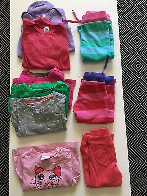 Mini Boden Hanna Andersson Play Lot 9 Pc Girls 18 24 Months 80 Tops Pants