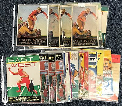Instant Archive College Football - East West programs 1925 - 1961 + 3